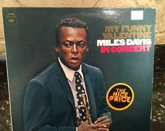 Miles Davis in Concert – My Funny Valentine – 1965 -  Jazz - Vinyl LP Record - Factory Sealed Vintage  Pressing - Free Shipping!