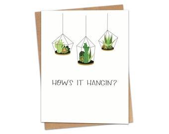 How's It Hangin'? Greeting Card SKU C208