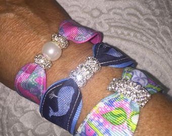 Lilly Pulitzer oh Shello Whales and Conch republic Bracelets
