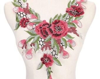 guipure floral lace 8 G