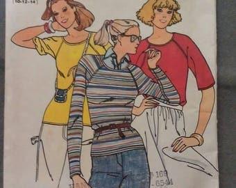 Butterick Pattern Marie Osmond Sews no. 6112 Size B 10-12-14