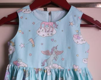 Unicorns and rainbows dress