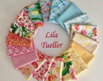 Fat Quarter Bundle - Paige's Passion by Lila Tueller for Riley Blake - Quilt kit - Quilt bundle - Summer Fabric Bundle