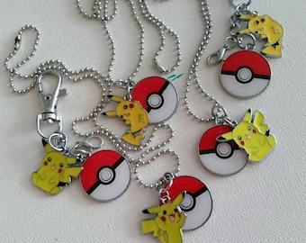 Pokemon necklace or keychain
