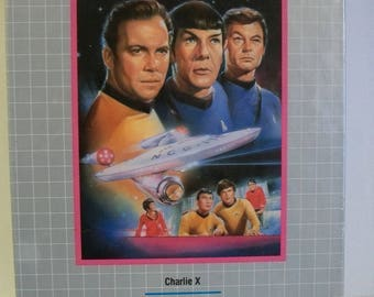 Star Trek The Collector's Edition  2 Episodes  Charlie X And The Enemy Within  Original Series  1991 VHS  New Factory Sealed Package
