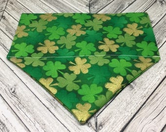 Four Leaf Clover Dog Bandana