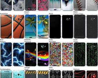 Choose Any 2 Designs - Vinyl Skins / Decals / Stickers for HTC 10 Android Smartphone