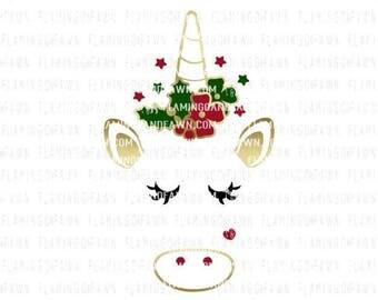unicorn svg, unicorn head svg, unicorn svg files, unicorn face svg, Christmas svg files, svg Christmas, unicorn horn svg, unicorn svg