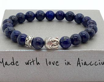 LAPIS LAZULI Buddha bracelet 1st choice