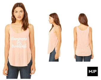 Champagne for Breakfast Tank Top