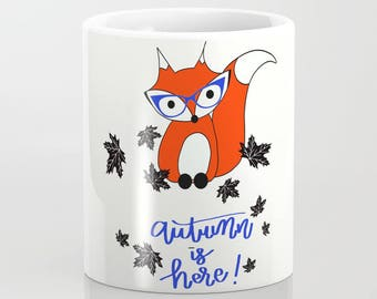 Autumn Fox Mug