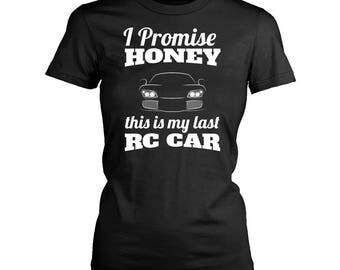 Rc cars womens fit T-Shirt. Funny Rc cars shirt.