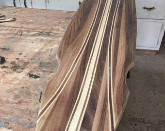 Recycled Wood Longboard