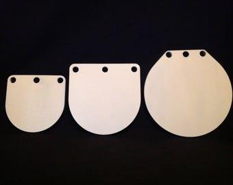 8,10&12in 3/8 AR500 Hardened Steel Gongs-Metal Shooting Range NRA Pistol Targets - G810123WAR500