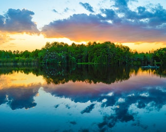 Beautiful Florida Sunset - ready for framing - Florida wall art, Sanibel, Fort Myers, Naples, Marco Island