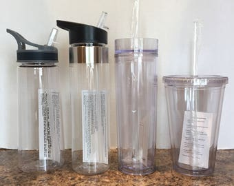 Blank Water Bottles, Skinny Tumblers, or Regular Tumblers - Ships within 24 hours!