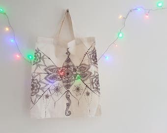 Hand-decorated Tote Bag