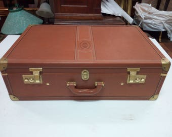 Vintage suitcase signed by Pollini,made in Italy - 1970s