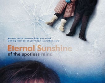 Summer Sale Eternal Sunshine Of The Spotless Mind Movie Poster Jim Carrey