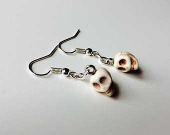Skull | Tribal | Emo | Goth | Cute | Earrings