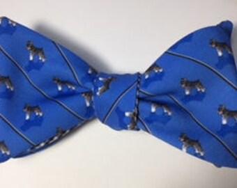 Schnauzer Dog Bow Tie