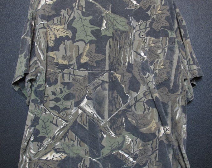 Camouflage Army Combat Pocket Tshirt