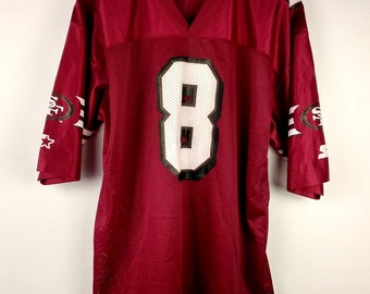 Vintage Starter NFL San Francisco 49 Ers  #8 Steve Young American Football Jersey Men's 2XL