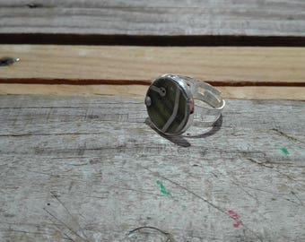 Circuit board resistors pastel round ring