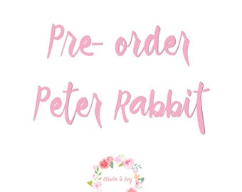 Preorder listing for Peter Rabbit Collection 2017
