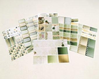 Emerald Isle -  Weekly kit - 6/7 pages - Planner stickers - Erin Condren - Plum Paper - Kikki K - Paperchase - Filofax