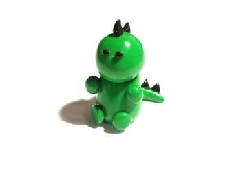 Mini Dinosaur Polymer Clay tiny kawaii miniature