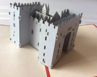 BUNRATTY CASTLE Pop Up Card