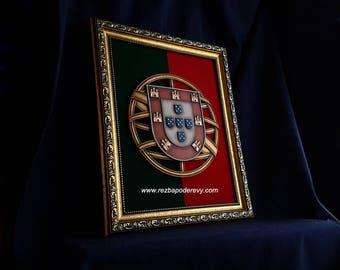 Brasão de Portugal , Coat of arms of Portugal