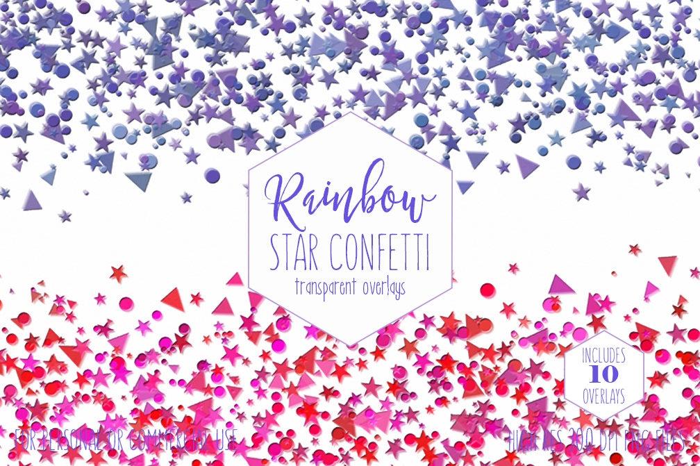 STAR CONFETTI OVERLAY ...