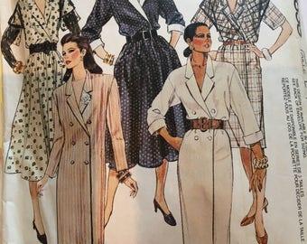 Vintage Easy McCalls Pattern 3858 shirt dress
