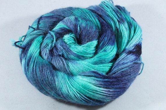 Hand Dyed Alpaca/Merino/Nylon Sock Yarn - Lost Lagoon