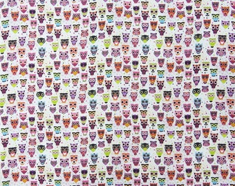 """Dress Fabric, Multicolor Printed, White Fabric, Quilting Fabric, Indian Decor, 46"""" Inch Cotton Fabric By The Yard ZBC8571A"""