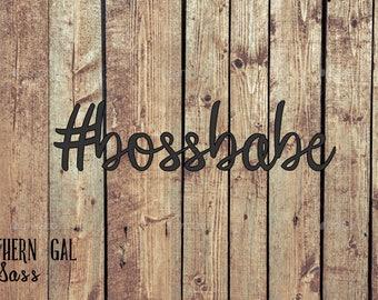 Bossbabe Vinyl Decal