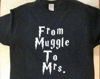 From Muggle to Mrs. short sleeve shirts
