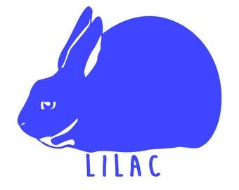 Lilac Rabbit  - Shirt