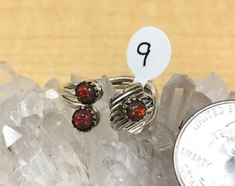 Fire Opal Ring, Size 9