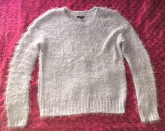Fuzzy Purple Sweater