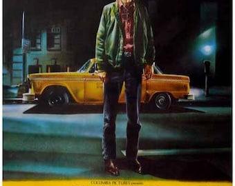 Taxi Driver Robert Deniro  Rare Vintage Poster