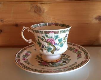 Indian Tree Elizabethan Teacup & Saucer