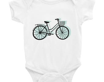 Bicycle Infant Bodysuit Bike Lover Baby One Piece