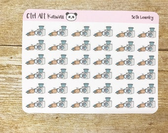 Seth the Sloth: Laundry Planner Stickers