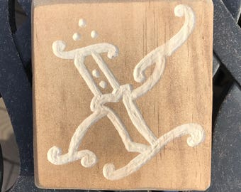 straight edge wood carving