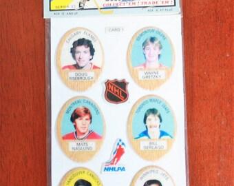 1983-1984 NHL Hockey Player Puff Sticker Pack