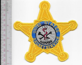 US Secret Service USSS HAMMER Special Operations Division Service Agent Patch
