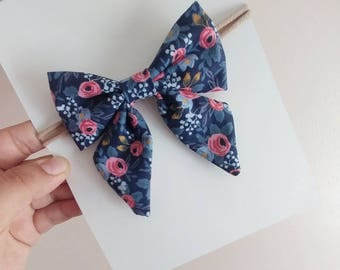 Hair bows, baby bows, floral cows, navy bows, sailor bows